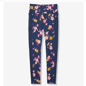 Vs pink floral print leggings